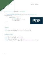 11.2 Fluent API Cheat Sheet