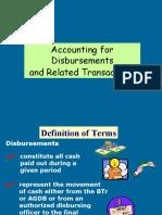 4.disbursements