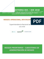 CE 004 de 2018 - Operacional SARLAFT y Reputacional v4