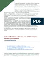 Artículo-plasticidad neuronal