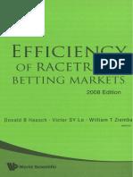 Efficiency of Racetrack betting markets.pdf