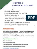 Chapter 4. Breakdown in Solid Dielektrik