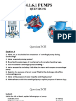 Pumps - Questions