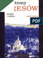 Od strony Kresow studia i szkice