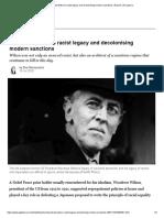 Woodrow Wilson's racist legacy and decolonising modern sanctions _ Racism _ Al Jazeera