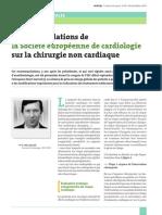 Recos chirurgie non cardiaque 2014