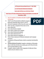 Project Details of FSA