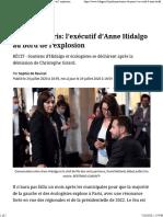 Mairie de Paris_ l'exécutif d'Anne Hidalgo au bord de l'explosion