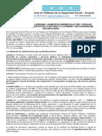 2do Manifiesto Seguridad Social