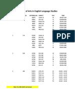 Block Schedule Sy 2020-2010 1st Sem Updated