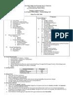 Subject Orientation Grade 11 Gen Bio Updated
