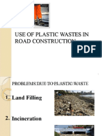 Use of Waste Material