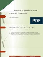 Antimicóticos preponderantes en medicina veterinaria