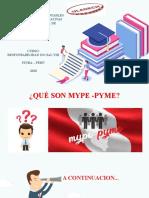 Qué Son Mypes-pymes