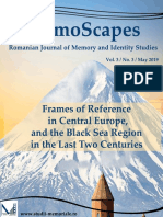 MemoScapes. Romanian Journal of Memory and Identity Studies N3.V.3. 2019