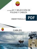 poleas y cables