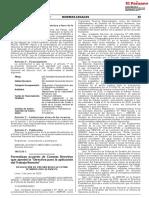 Directiva para aplicación de Trabajo Remoto