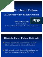 Diastolic Heart Failure A Disorder of the Elderly Patient - 46P (2)