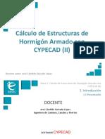 Presentación_M6T2_Cálculo de Estructuras de Hormigón Armado con CYPECAD II