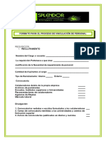 FORMATO BORRADO DE RECLUTAMIENTO Y SELECCION DE PERSONAL