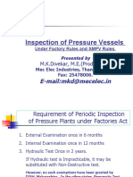 NSC LECTURE Sept  2010- inspection of Pressure Vessels