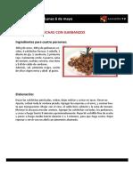 Las recetas de La Pera Limonera_2013_05_ 06 al 10 de mayo