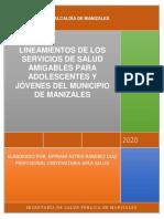Lineamientos servicios amigables Mzles 25-04-2020