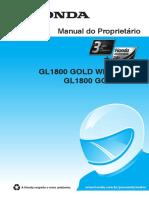 Manual de usuario GL1800 GOLD WING
