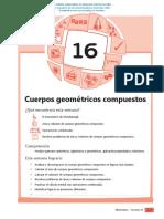 AREAS Y VOLUMENES DE FIGURAS COMPUESTAS
