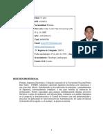 CV - MARCOS FLORES 2019