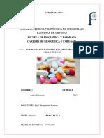 CLASIFICACIÓN Y TIPOS DE ENVASES PARA PRODUCTOS FARMACÉUTICOS parte 2