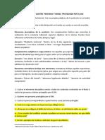 TALLER DELITOS CONTRA  PERSONAS Y BIENES  PROTEGIDOS POR EL DIH