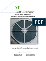 Desiccant Dehumidification Rotor and Cassette_0
