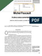Alvarez, Marcos & Filho, Kléber - Michel Foucault - A obra e seus comentadores