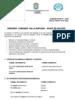 VICIOS DE DICCION (1)