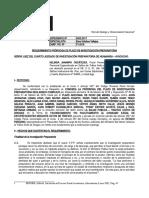 MODELO PRORROGA DE PLAZO DE INVESTIGACION COMPLEJA