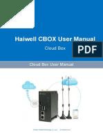 User_s Manual of Haiwell Cloud Box