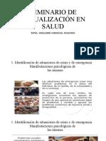 SEMINARIO DE ACTUALIZACIÓN EN SALUD