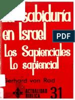 VON RAD-Sabiduría en Israel-1985.pdf