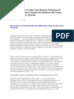 American College of Critical Care Medicine Parámetros de Práctica Clínica para el Soporte Hemodinámico del Choque Septico Pediátrico y Neonatal.docx