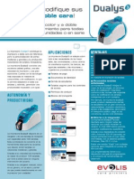 Impresora Evolis Dualys 3