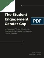 student engagement gender gap research study cutsumpas