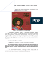 Filosofia Kemética - Resgate Cultural Afrikano