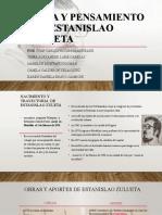 Vida y pensamiento de Estanislao Zuleta