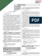 o actualizado del Reglamento de Organización y Funciones del Ministerio de Economía