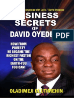 Business Secrets of David Oyedepo