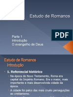 Estudo de Romanos - aula 1