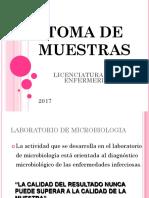 power point TOMA DE MUESTRAS