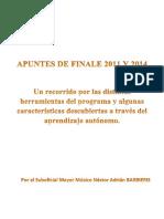 APUNTES DE FINALE 2011 y  2014