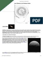 Corpos Menores do Sistema Solar